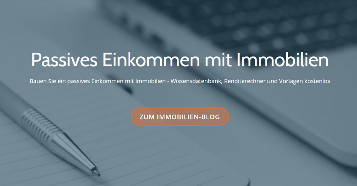 Der Immobilien-Blog für Privatpersonen und Kleinanleger ...